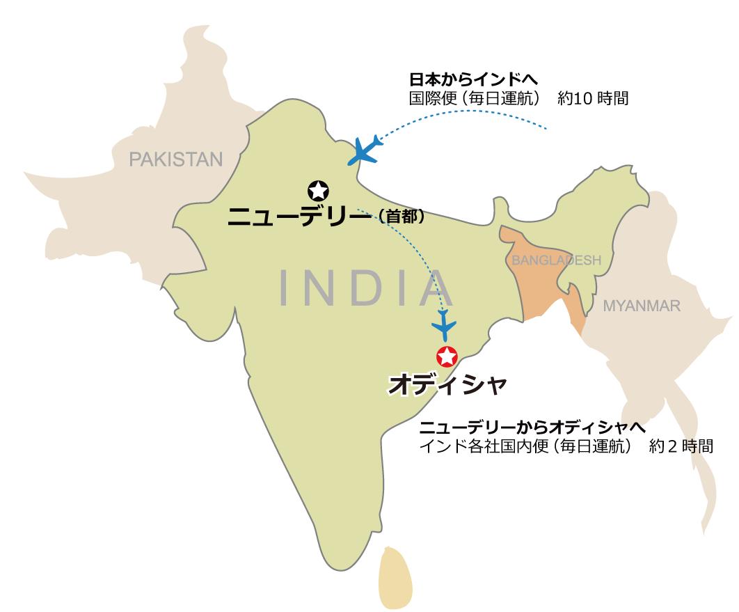 インドマップ